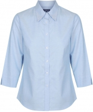 Gloweave Ladies Oxford 3/4 Sleeve Shirt
