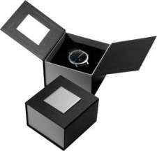 Black & Silver Card Gift Box