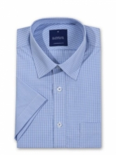 Gloweave Men's Gingham Check Short Sleeve