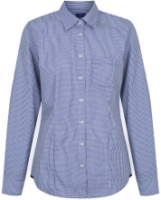 Gloweave Ladies Gingham check Hospitality Shirt Long Sleeve