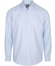 Gloweave Men's Micro Step Textured Plain L/S Shirt