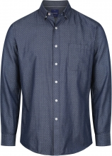 Gloweave Men's Denim Dobby Long Sleeve Shirt