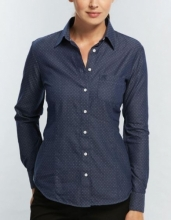 Ladies Gloweave Polka Dot Dobby Shirt Hospitality