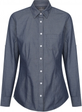 Gloweave Ladies Polka Dot Dobby Shirt Hospitality