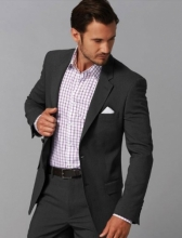 Men's Gloweave Two Button Jacket