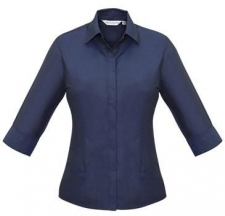 Denim Ladies Hemingway 3/4 Sleeve Shirt