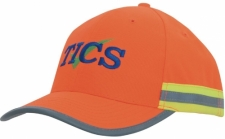 Hi-Vis Cap with Reflective Tape