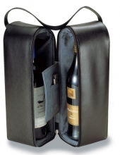 Insulated Two Bottle Wine Carrier