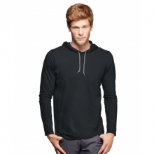 Anvil Lightweight Long Sleeve Hooded Tee
