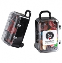 Acrylic Carry-on Case filled with Jelly Beans 50g