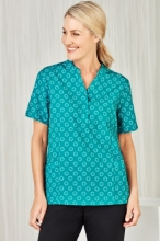 Women's Easy Stretch Daisy Print Tunic