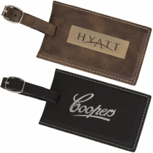 Agrade Sueded Leatherette Luggage Tag