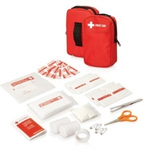 30pc First Aid Kits - Belt pouch w/front pocket