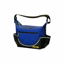 Insulated Blue PVC Crib Bag