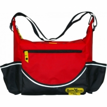 Insulated Red PVC Crib Bag