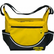 Insulated Yellow PVC Crib Bag