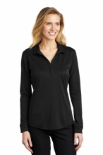 Port Authority Ladies Silk Touch Performance L/S Polo
