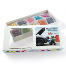 Assorted Colour/Flavour Jelly Beans in Box - 125 Grams