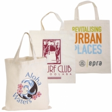 Calico Double Handle Tote Bag - 140GSM