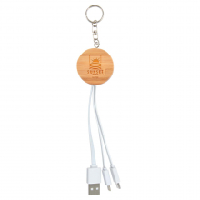 Rise Bamboo 3 in 1 Power Cable