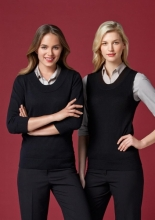 Ladies 80/20 Wool-Rich Pullover & Vest