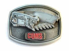 Pewter Belt Buckle