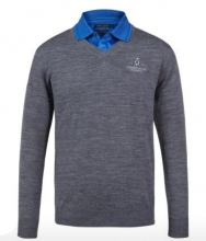 Sporte Leisure Mens 100% Wool Club Jumper