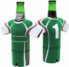 Soccer Jersey with Shorts Stubby Holder